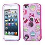 Apple iPod Touch 5th Gen/6th Gen Case, Mybat Verge Cake Dual