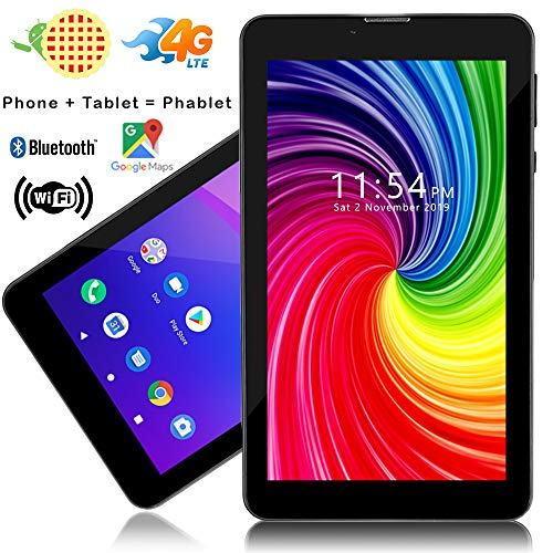 Indigi New! Ultra-Slim 3G Smartphone Phablet 5.5-inches Capacitive Touch Screen Android 4.4 Google Play Store Dual-Sim Dual-Standby Dual-Cameras (Black)