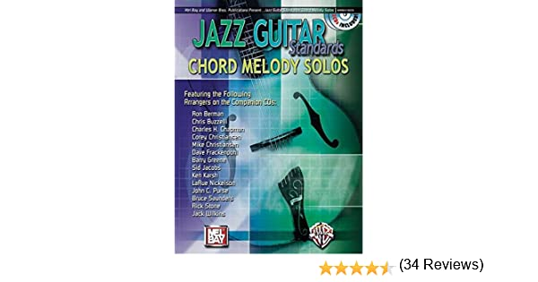 Amazon Mel Bay Jazz Guitar Standards Chord Melody Solos Book