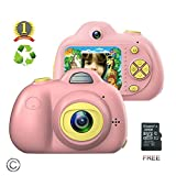 Kids Camera for girls or boys - anti-drop kid digital camera with Soft