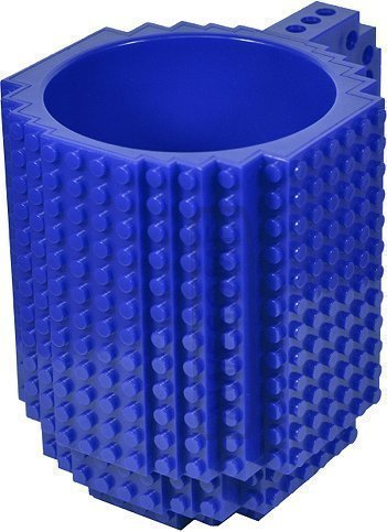 Awesome-Juegos-de-construccin-diseo-taza-compatible-con-LEGO-color-azul