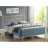 Serene Harriet Gothic Metal Bed Frame Amazon Co Uk Kitchen Home