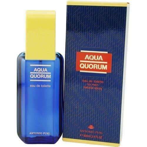 (Aqua Quorum EDT Spray 3.4 Oz by Antonio Puig *** Product Description: Aqua Quorum by Antonio Puig EDT Spray 3.4 Oz for Men ***)