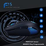 DEARMO Wired Gaming Mice, PMW3325 Gaming Engine,7