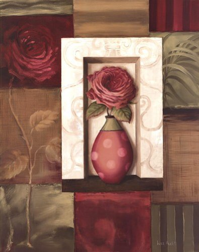 Rose Study I by Lisa Audit - 16x20 Inches - Art Print Poster - Lisa Audit Rose