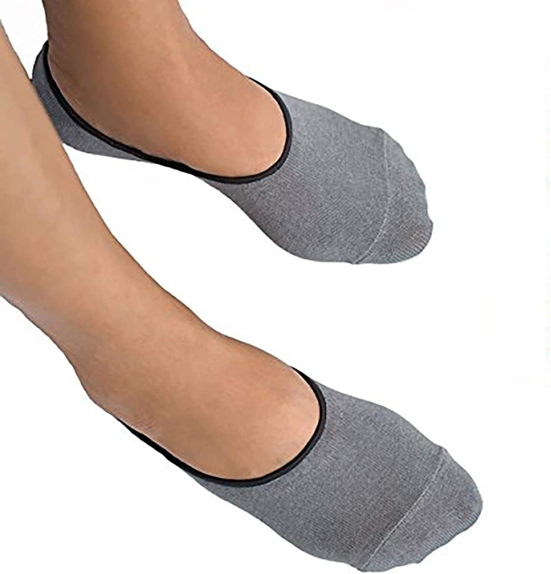 Thirty48 Men's No Show Socks Non-Slip Silicon Grip Moisture Wicking Low Cut Invisible Casual Socks at  Men's Clothing store