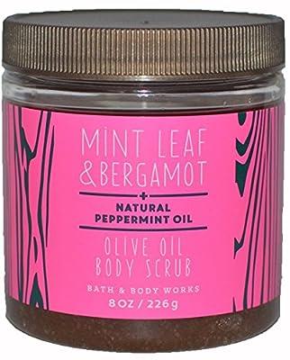 Bath & Body Works Olive Oil Body Scrub Mint Leaf & Bergamot