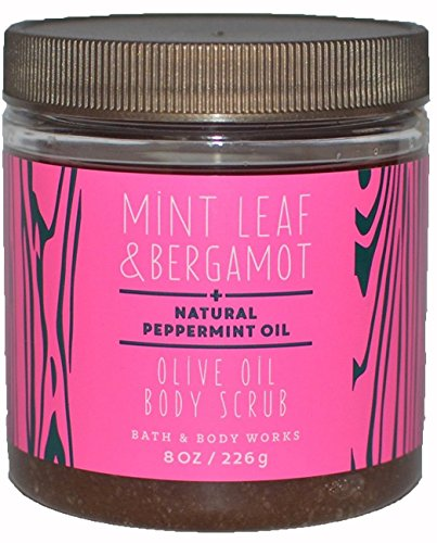 Bath & Body Works Olive Oil Body Scrub Mint Leaf & Bergamot