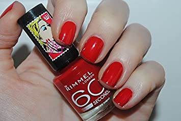3e38aa13986 Image Unavailable. Image not available for. Color: Rimmel 60 Seconds Rita  Ora Nail ...