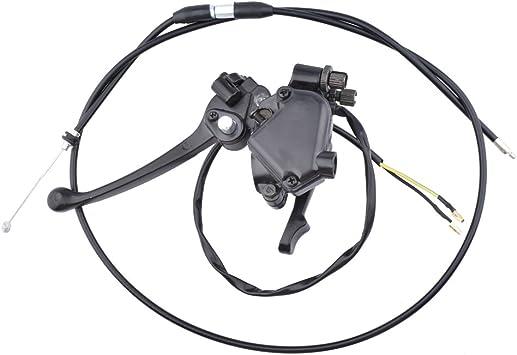 Thumb Throttle Assembly w Throttle Cable For 50CC-125CC ATV Quad Taotao Roketa