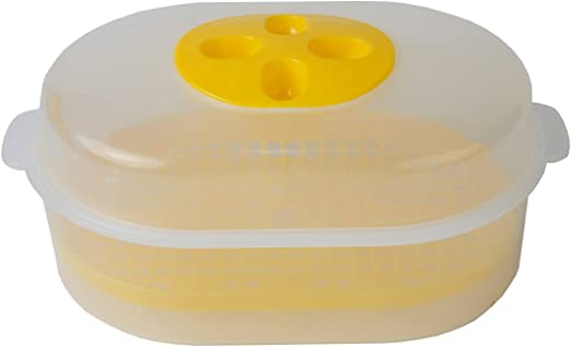 Amazon.com: Home-x Microondas Vapor Set: Kitchen & Dining