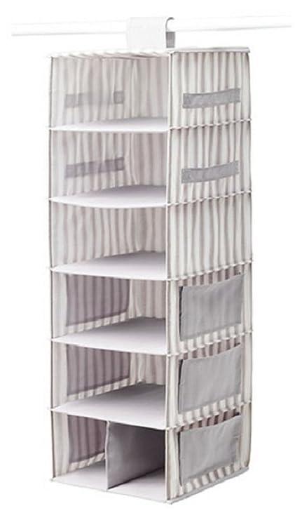 Beau Ikea SVIRA Hanging Storage And Organization System, Gray U0026 White Striped,  903.002.97