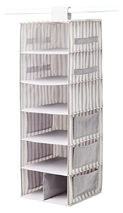 Amazoncom Ikea SVIRA Hanging Storage and Organization System Gray