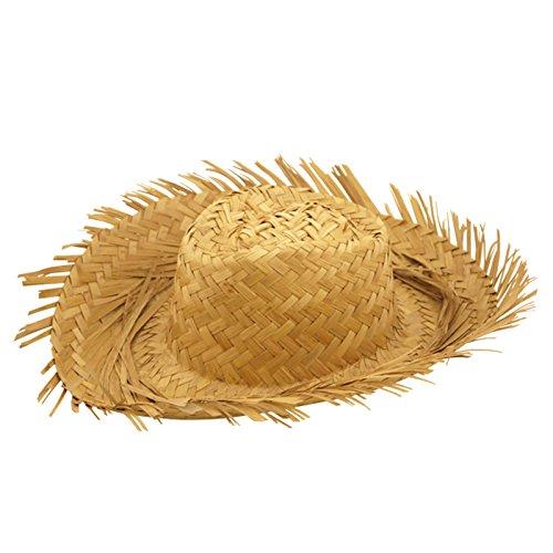 [Men's Straw Beachcomber Hat] (Straw Farmer Hats)