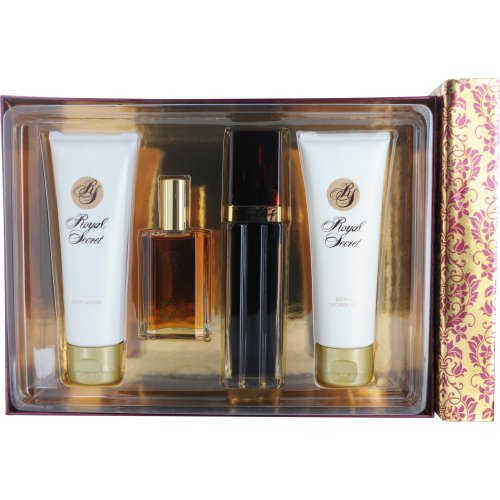 Star 3.3 Ounce Edt (Royal Secret By Five Star Fragrance Co. Set for Women, 4-Count)