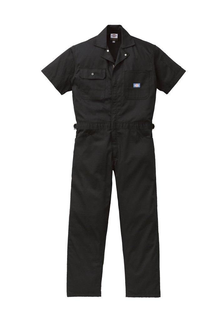 ディッキーズ Dickies (山田辰)夏用半袖 ツヅキ服 1012 ブラック 3Lサイズ B008PO5Y0E 3L|ブラック