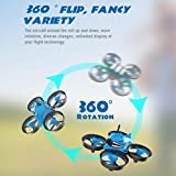 Dreamyth Shark Hunting 013pro Micro FPV RC Drone Quadcopter With 5.8G 1000TVL 40CH Camera VR006 VR-006 3 Inch Goggles Nice Gift (blue 1)