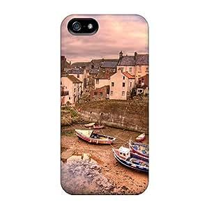 Defender Case For Iphone 5/5s, Cuo El Rio Esta Seco Pattern