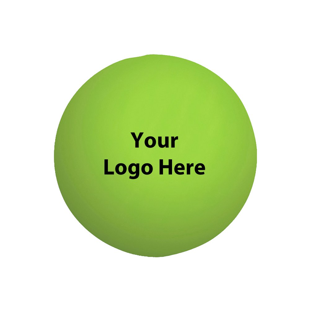 Ball Stress Reliever - 100 Quantity - $1.25 Each - Promotional Product/Bulk/Branded with Your Logo/Customized. Size: 2-3/4? Diamter
