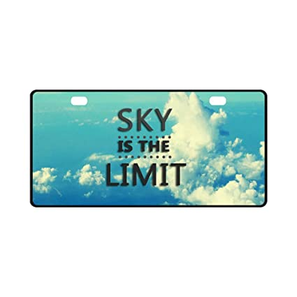 Amazoncom Interestprint Blue Sky Clouds With Inspirational Quotes