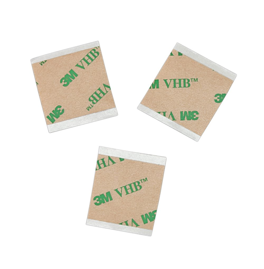 Pack of 4 0.5 Wide 3M 1//2-5-F9473PC Length 0.5 Wide Adhesive Transfer Tape F9473PC 5 yd CASE of 4 Clear