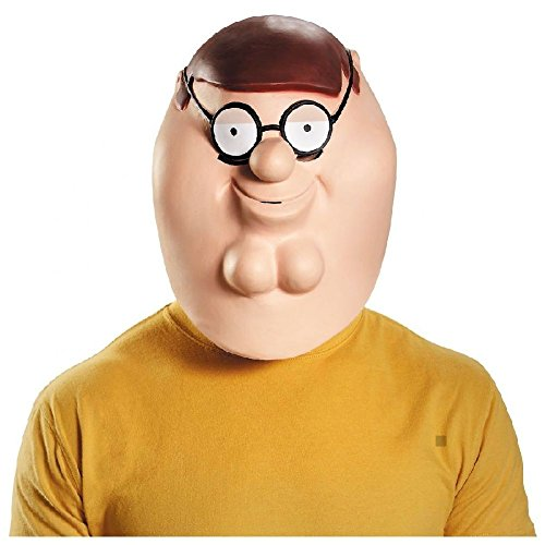 Deluxe Peter Mask Costume Mask Adult Family Guy Halloween