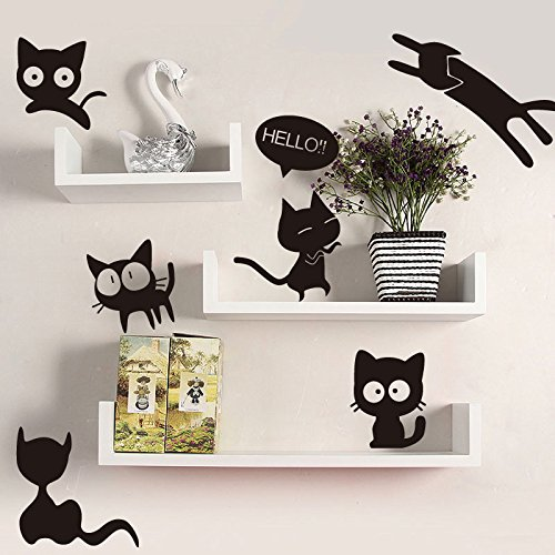 HUNGER-the-Day-of-a-Cat-Removable-PVC-Wall-Sticker-Decal-Room-Decor