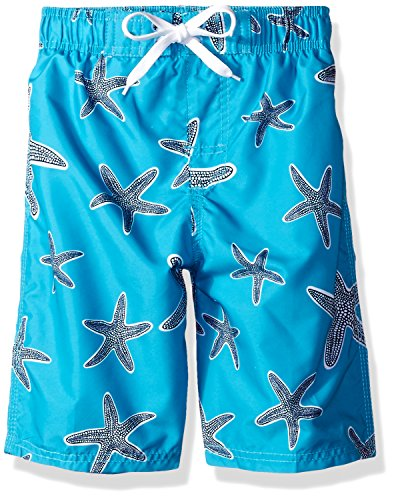 8582ddc857 Kanu Surf Boys' Starfish Sea Life Quick Dry Beach Board Shorts Swim Trunk