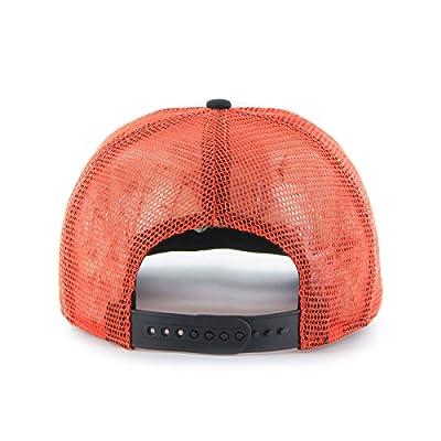 MLB Baltimore Orioles Women's Glimmer Captain Adjustable Snapback Hat, Orange