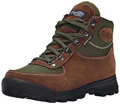 Vasque Men's Skywalk Gore-Tex Backpacking Boot, Dark Brown/Chive, 7 M US