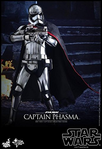 Hot Toys Star Wars Episode VII The Force Awakens Captain Phasma 1/6 Scale Figure