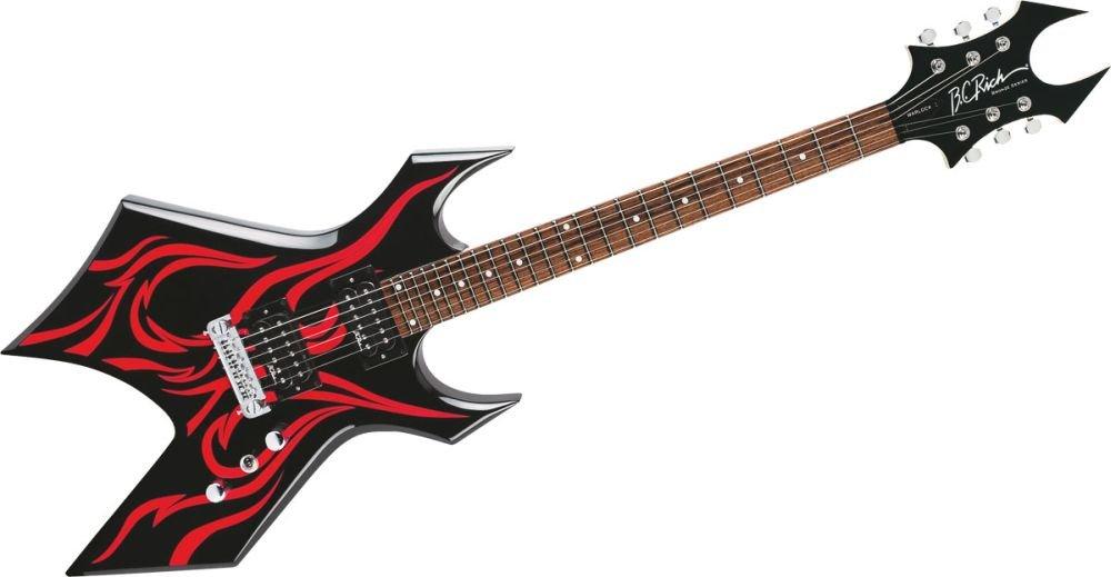 Guitarra eléctrica Kerry King Metal Master Warlock Tribal Fire: Amazon.es: Instrumentos musicales