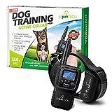 #3: Pettech PT0X1 Premium Dog Training Shock Collar, Fully Waterproof, 1000ft Range