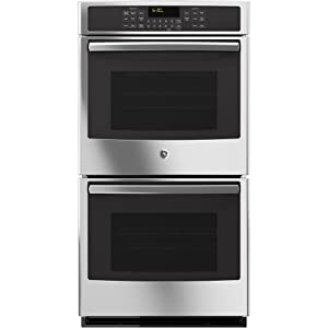 "GE JK5500SFSS 27"" Built-In Double Convection Wall Oven In Stainless Steel"