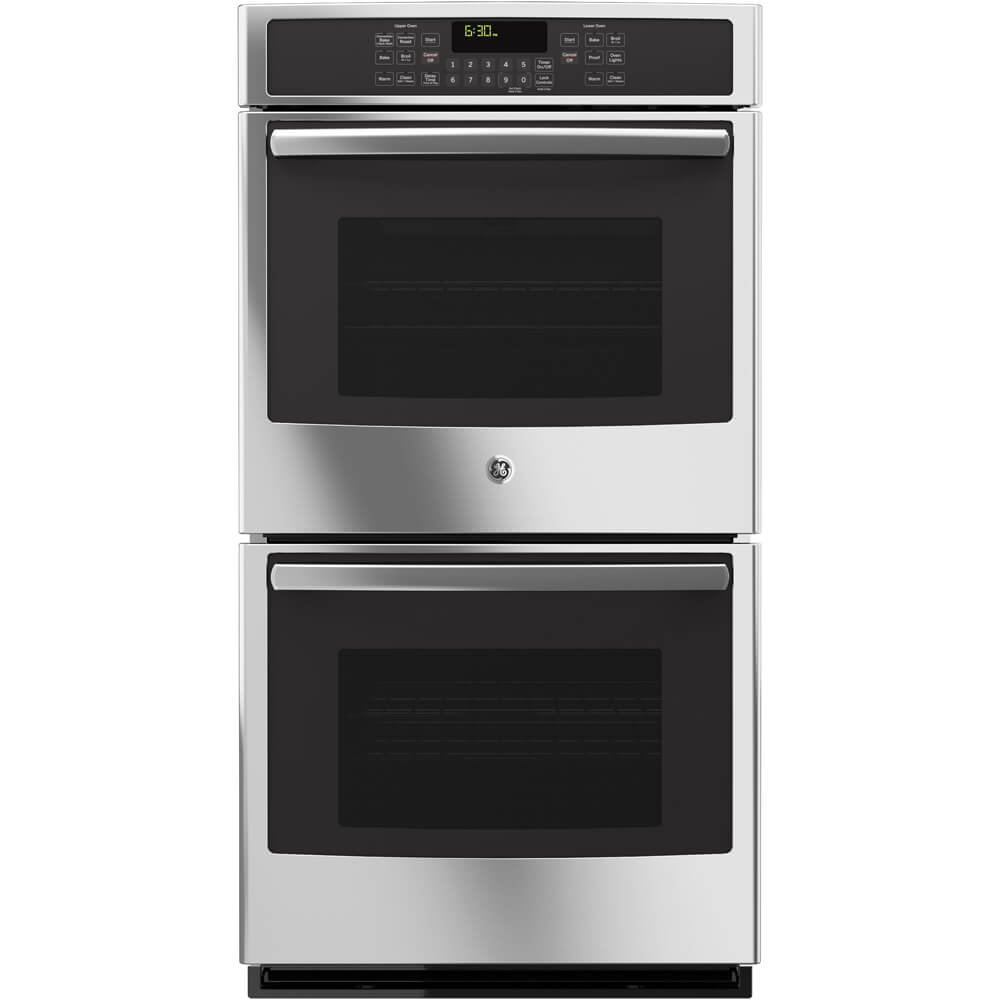 GE JK5500SFSS 27'' Built-In Double Convection Wall Oven In Stainless Steel