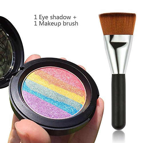 Travelmall-Rainbow-Cake-eyeshadow-blush-makeup-rainbow-highlighter