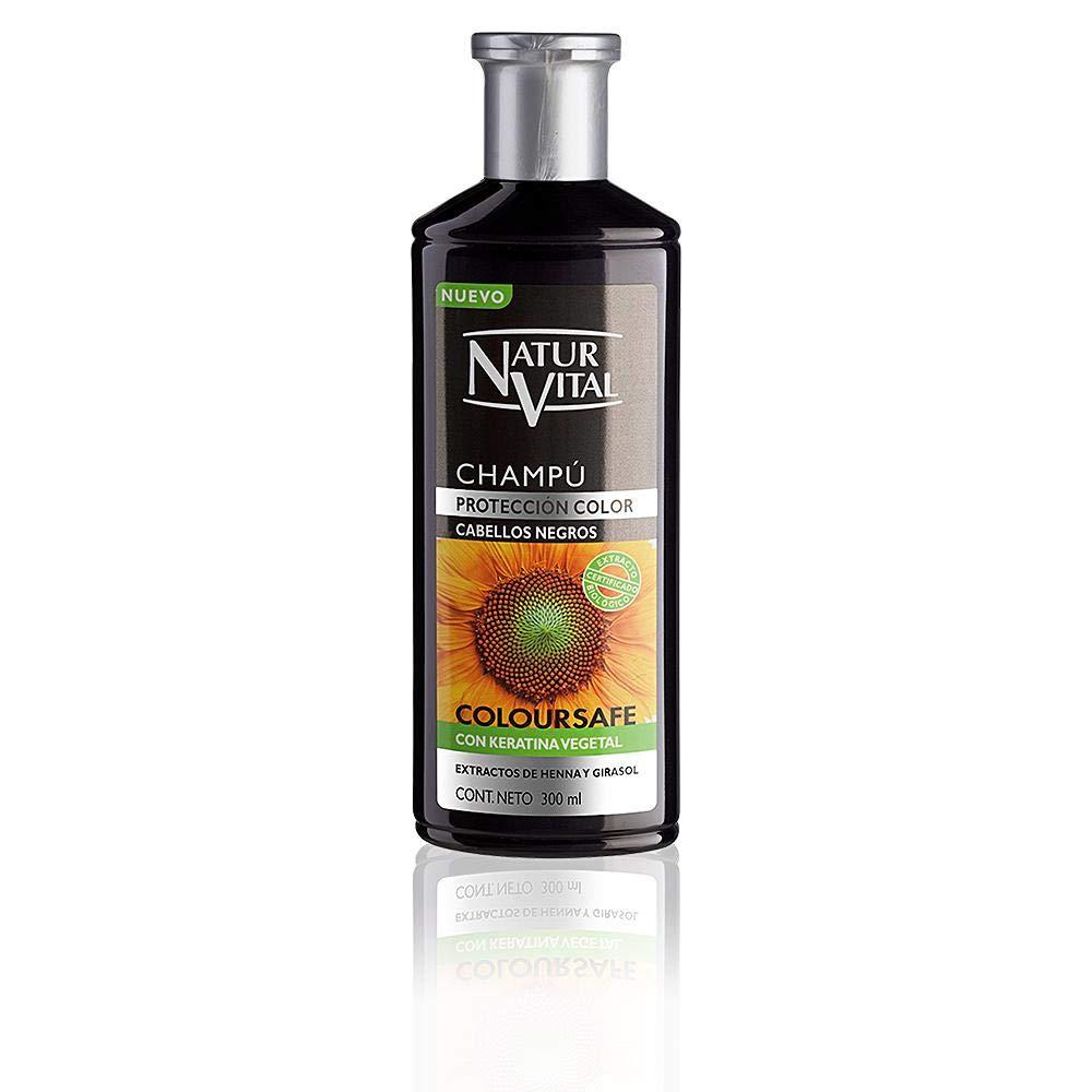 Naturaleza y Vida Champú Color Negro - 300 ml: Amazon.es: Belleza