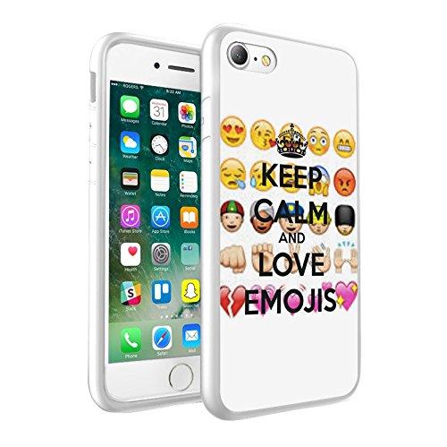 iPhone X Hülle, einzigartige Custom Design Prodective harte zurück dünner dünner Fit PC Bumper Case Kratzfeste Abdeckung für iPhone X - Emoji 0018
