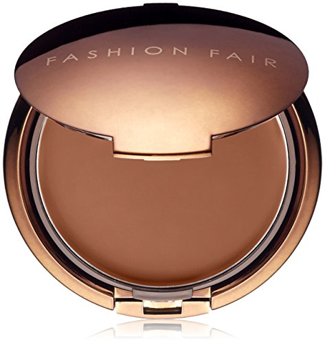 Fahion Fair Perfect Finish Oil Free Cream to Powder Makeup Color: Pure Brown - Fahion Fair