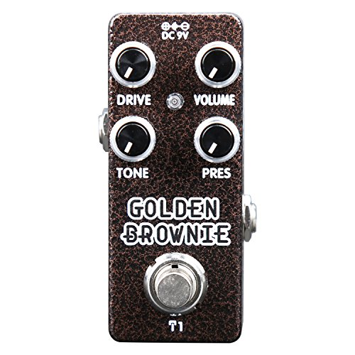 Distortion Pedal,Mini Guitar Effect Pedal Vintage High Gain Metal Distortion Multi-effects Pedal True -