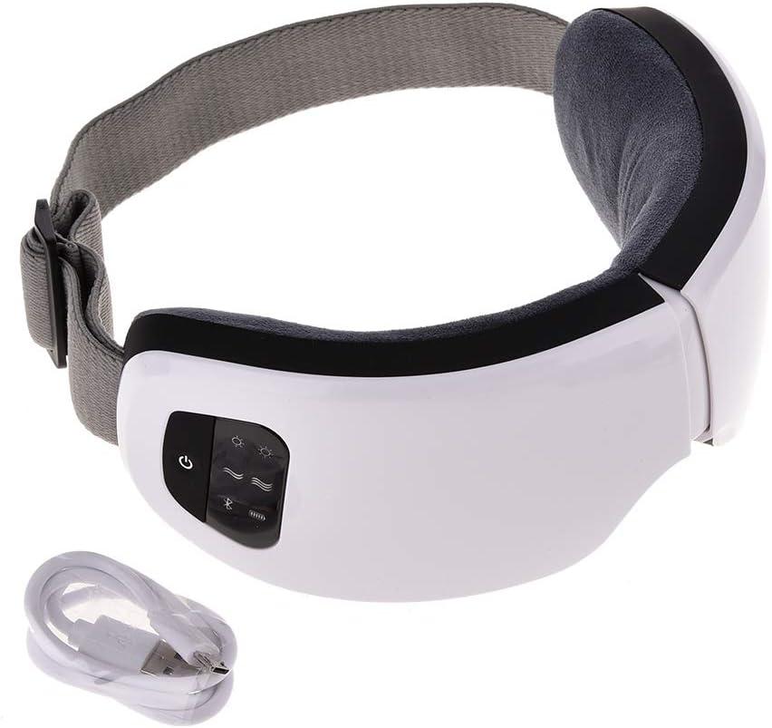 Eye Protector Massager Inalámbrico Plegable Usb Portátil de Carga Soporte Eléctrico Teléfono Móvil Bluetooth Smart Music Care Cuidado de Masaje Nanny Cubierta de Protección Aliviar Con Compresión 6s
