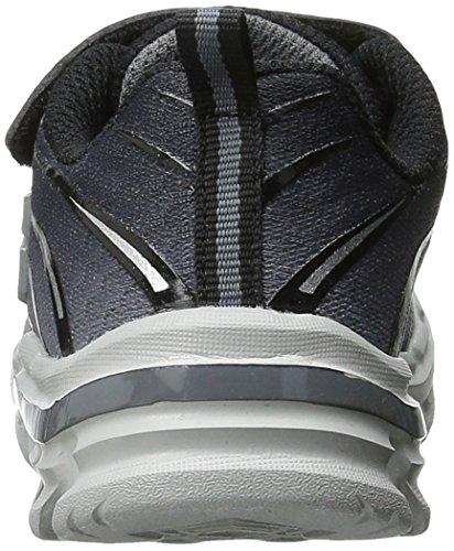 Skechers Nitrate Top Speed - Zapatillas de deporte Niños Negro - Noir (Noir/Gris)