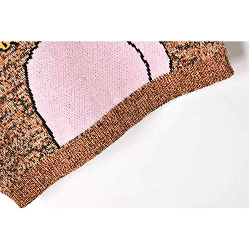 A Calda Cartoon Sikesong m Carino Invernale Miscelazione Lavorata Dei Abbigliamento M Moda Di Pista Ponticello Spessore Girl Maglia Felpa Pullover Pattern Colori qwwv0If