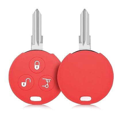 Hülle für Smart Autoschlüssel Silikon Schlüssel Schutzhülle Schlüsselgehäuse