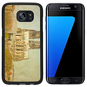 Liili Samsung Galaxy S7 Edge Aluminum Backplate Bumper Snap Case iPhone6 IMAGE ID 32779611 Vintage view of Gothic Cathedral in Cologne Germany