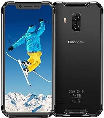 Blackview BV9600 4G Móviles Libre Resistente 2019, Helio P70 Android 9.0 Telefono IP68, 6,2 Pulgadas AMOLED Display Smartphone Antigolpes, Batería ...