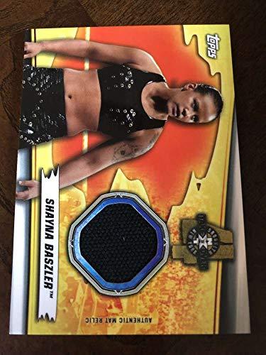 2019 WWE Topps SummerSlam Mat Relics #MR-SB Shayna Baszler MEM Official Wrestling Trading Card from WWE SummerSlam