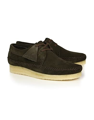 Clarks Men's Weaver Suede Shoes - - UK 8 fULW2Q4HFX
