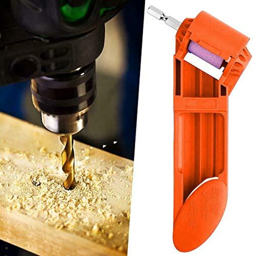 Grinding Drill, LtrottedJ Diamond Drill Bit Sharpening Tool 2-12.5mm Corundum Grinding Wheel Powered Tool (Orange)