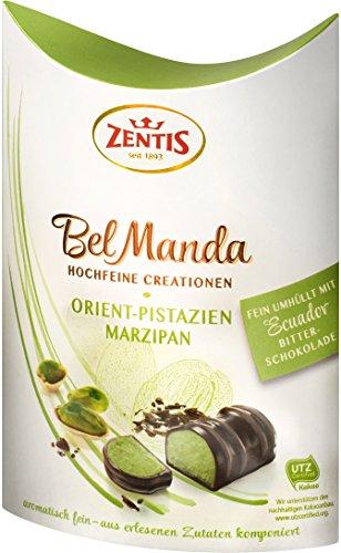 Zentis Bel Manda Edelmarzipan Orient Pistazie Pralinés, 4er Pack (4 x 100 g)